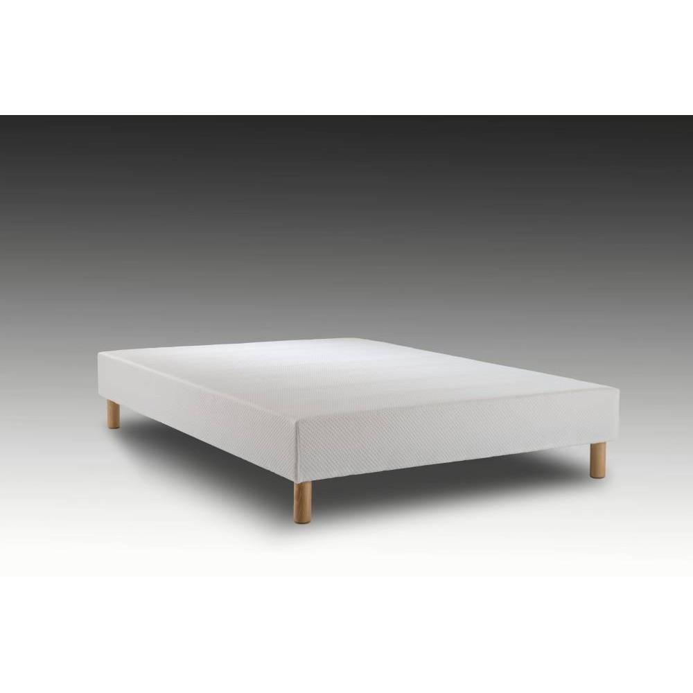 sommier tapissier 140x190 dormilisse pieds. Black Bedroom Furniture Sets. Home Design Ideas